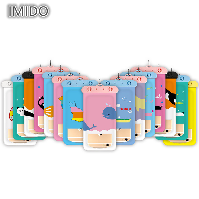 Women Card Holder Fashion Korean cartoon animals Waterproof Pouch Bag Cell Phone Case For iPhone Coin Purse Storage Wallet f006b double layer zipper wallet coin purse cell phone storage pouch bag w hand strap deep pink page 5