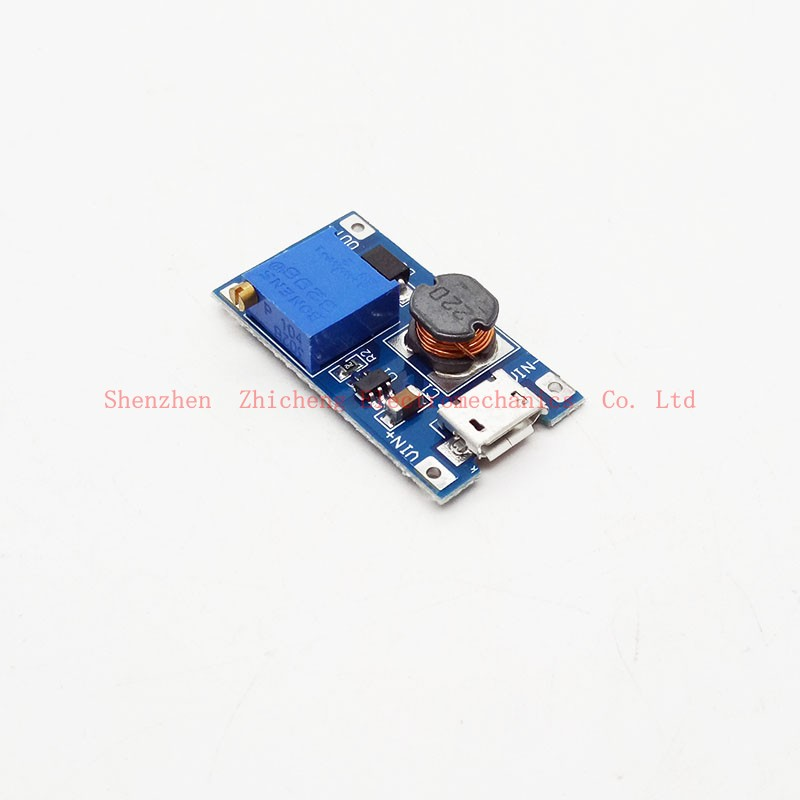 2A USB Booster Board DC-DC Step-up Module 2-24V input Boost To 5-28V