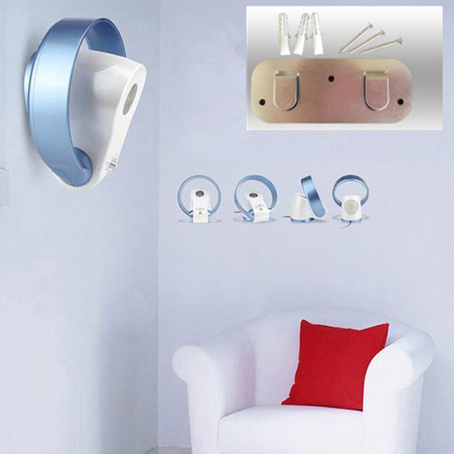 2017 New Invention Modern Wall Fans Without Blades