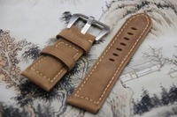 Leather Watchband for PAM111 strap 24mm/22mm