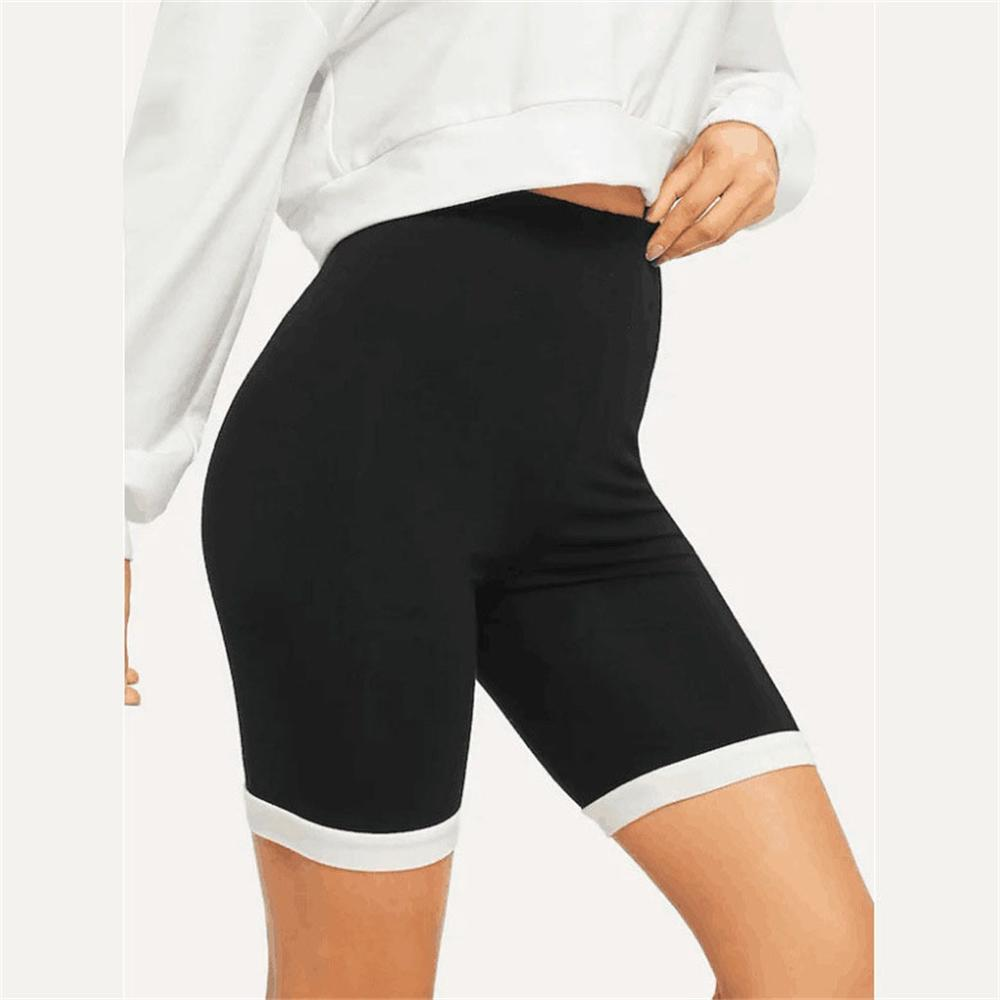 Women's Elasticity Sport Workout Yoga Shorts Quick Drying Breath Cycling Running Sweatpants Fitness Leggings For Ladise Summer