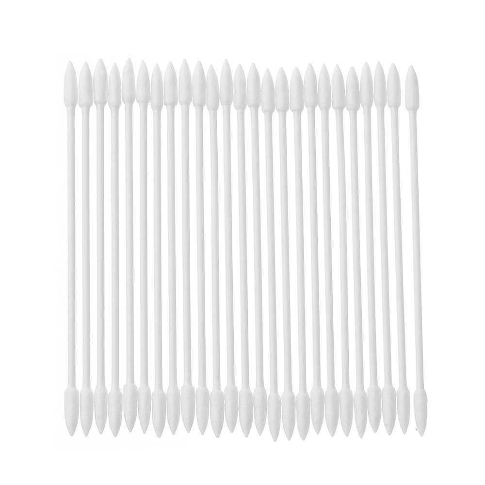 Professional 50pcs Pro Cleaning Swab Tool Cotton Disposable Stick Cleaning Tool For AirPods Earphone Cellphone Cleaning Use