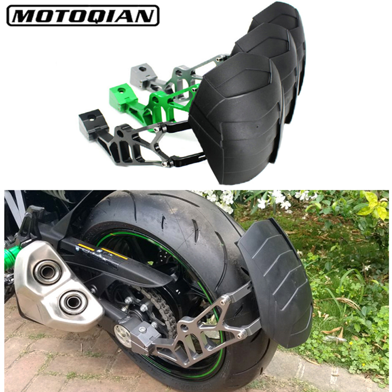Motorcycle Mudguards Rear Wheel Tire Fender Rear Fender Bracket Splash Mud Dust Guard Fender Shield For Kawasaki Z1000 SX Z800 fender fender newporter classic hrm w bag