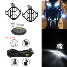 Motocycle Fog Lights For BMW Motorcycle LED Auxiliary Fog Light Driving Lamp For BMW R1200GS/ADV K1600 R1200GS R1100GS