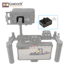"CAMVATE V נעילת שחרור מהיר צלחת עם V נעילת שחרור מהיר מתאם (טריז ערכת) & 1/4 "" 20 ברגים עבור הרכבה צלחת חיבור"