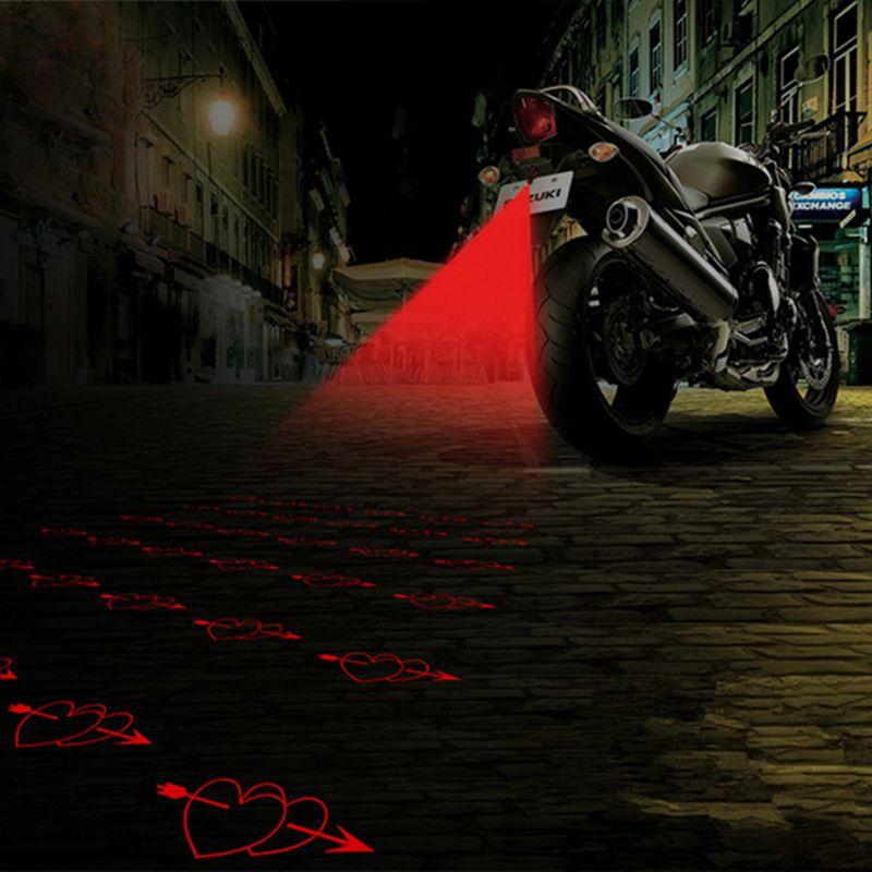 LEEPEE мотоциклетные светодиодные лазерные Противотуманные фары Задний фонарь противотуманный стояночный стоп сигнальные лампы Задний фона...