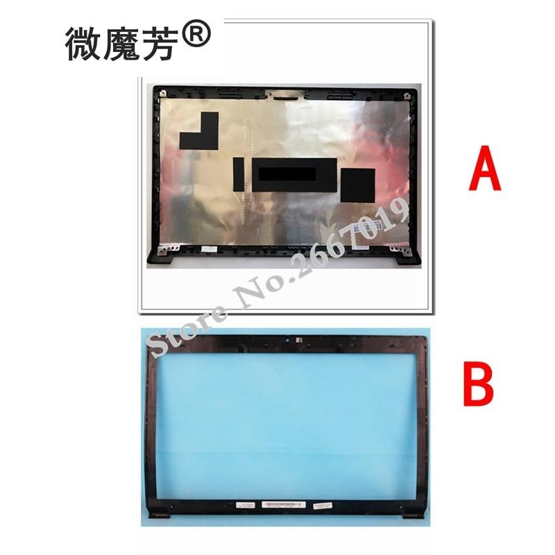 for Lenovo B590 LCD Rear Cover Back Top Lid Case 60.4XB04.012 60.4XB04.001 90201909/LCD Front Bezel Cover 60.4XB05.001 41.4XB03 цена