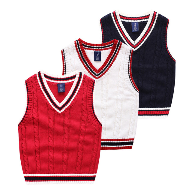 Baby Boys Sweater New Autumn Kids bobo choses Striped Cotton Sweater Vest Jumper For Boys Girls Baby Fall Sweaters Clothing