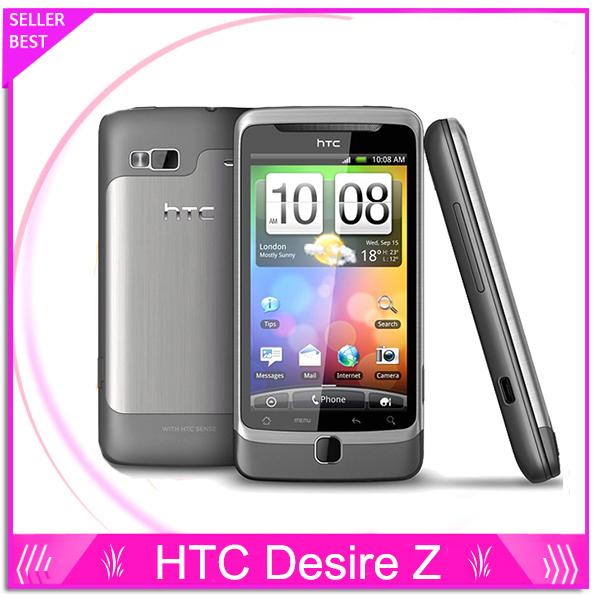 A7272 abierto Original HTC Desire Z teléfono celular 1.5 GB 3 G 5MP GPS WIFI Android OS 2.2 QWERTY deslizante SMARTPHONE envío gratis