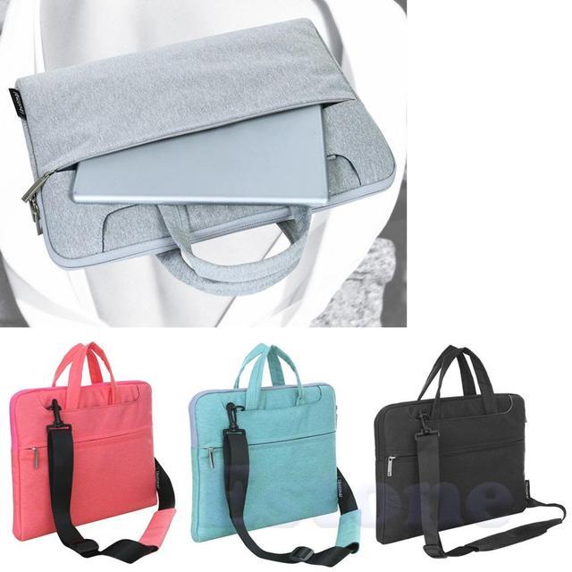"Brand High Quality New Laptop Sleeve Case Bag Cover Handbag For 15"" 13"" 11"" Mac Air Pro MacBookc Fashion Computer Bag"