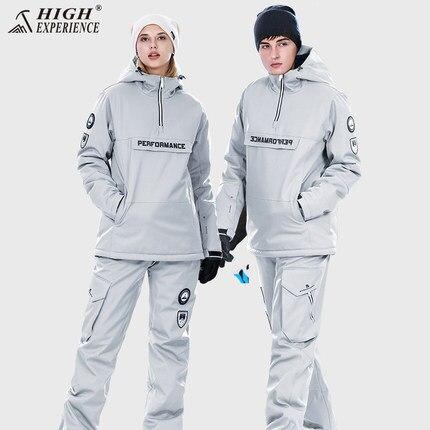 Livraison Gratuite Combinaison De Ski Homme et femme Ski Et Snowboard Ensembles Super Chaud et Imperméable Snowboard Hiver Neige Costumes Haute Expéri