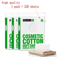 High Quality Facial Makeup Cotton Pads 100 Cotton Plant Paper Towel Face Disposable Cleansing Cosmetic Cotton