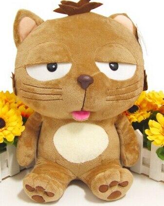 Кошки кукла Большой ленивый кот большое лицо кошка Dinga кошка игрушки 60 см высокие игрушки для маленьких детей классические игрушки обучения и образования 2014 новый