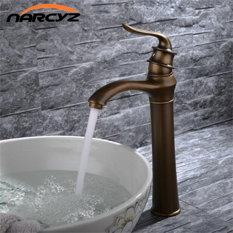 Hot Sale Good Quality Deck Mounted Single Handle Gold Bathroom Basin Hot & Cold Mixer Tap Basin Faucet XT951 hot sale good quality deck mounted single handle gold bathroom basin hot