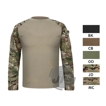 Emerson Tactical Military Army Hunting Assult Combat Shirt Long Sleeve T-shirt EmersonGear CP Style Outdoor Shirt Tops Clothing