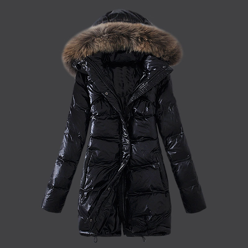 Korean Women Outerwear Long Winter Coats White Duck Down/Goose Down Jackets Fashion Maternity Thick Warm Parka Fox fur hooded 4X new 2017 fashion girls winter coats female child down jackets top quality outerwear medium long thick 90% duck down parkas