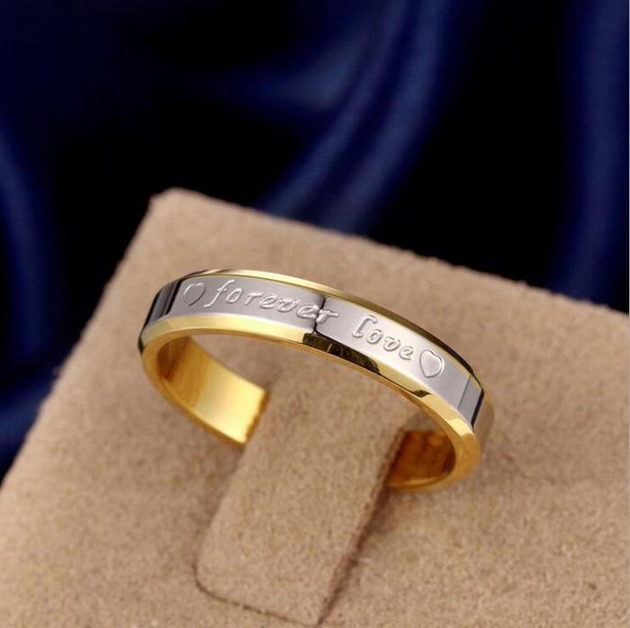 STORT 90% RABATT! Classic Forever Love Solid Gold Ring Engagement - Märkessmycken - Foto 4