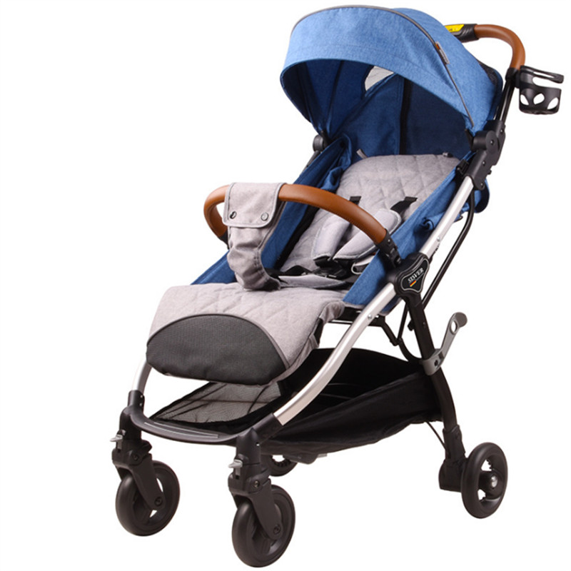 Ultra-Lightweight Baby Stroller Folding Baby Trolley Umbrella Bebek Arabasi Poussette Can Sit Can Lie Portable On the Airplane baby stroller 3 in 1 portable light umbrella folding baby carriage can take a lying cart can be on the plane bebek arabasi