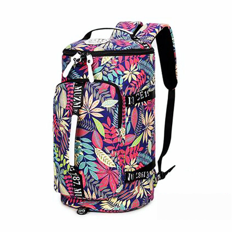 Waterproof canvas gym backpack men women message travel mountaineering single shoulder bag yoga fitness handbag crossbody bag