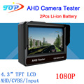 4.3 inch TFT LCD MONITOR COLOR  Two in One1080P/ 960P/720P/ D1 AHD CCTV CAMERA TESTER Test  Freeshipping