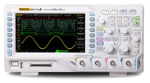 RIGOL MSO1104Z 100MHz Mixed Signal Oscilloscope 4 analog channels 100MHz bandwidth