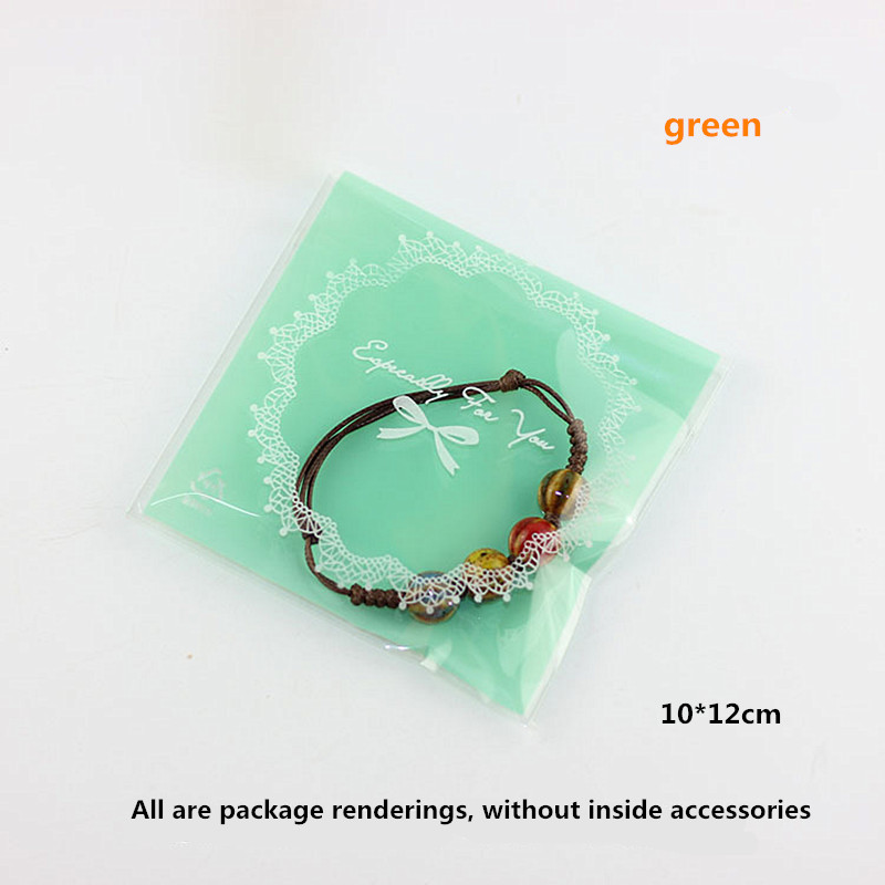 Jewelry Bags Self Adhesive Small earring Pouches Necklace fashion OPP Plastic Bracelet jewellery Bag bijoux packaging oorbellen in Jewelry Packaging Display from Jewelry Accessories
