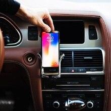 U Shape Universal Automatic Car Holder Mount Bracket Car Phone Holder For Huawei P20 lite Mate 10 Lite Antiskid