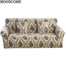 Europa Blume Gedruckt Sofabezug Neue Ankunft Zu Hause Dekorative Dünne Elastische Spandex Sofa Abdeckung Für Wohnzimmer