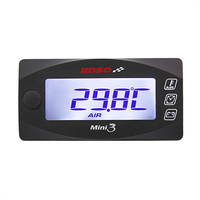 Universal Multi Function Digital Motorcycle Voltage Alarm Temperature Thermometer Tachometer For Racing And Scooter