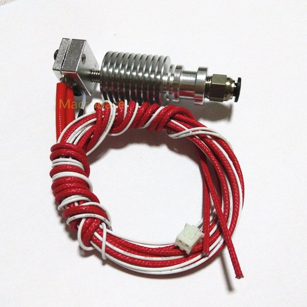 E3D V6 bowden extruder 1 75mm 0 4mm remote control nozzle RepRap J head hotend nozzle
