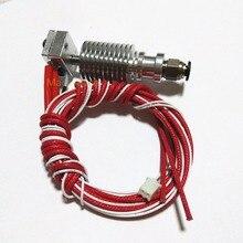 E3D V6 Боуден экструдера 1.75 мм/0.4 мм дистанционный пульт сопла RepRap j-глава hotend насадка алюминиевый сплав Нити Экструдер нагреватель