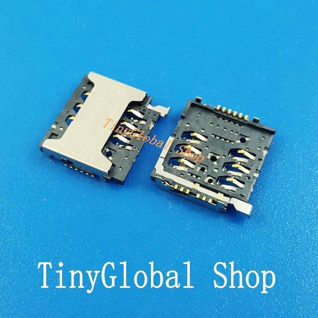 2 pcs/lot XGE nouvelle carte SIM prise lecteur connecteur de remplacement pour Oukitel K4000 PRO Uoogou M8 M9 Q10 Soja S880