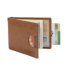 Gubintu Wallets Rfid Blocking Fashion Cute Genuine Leather Money Clip