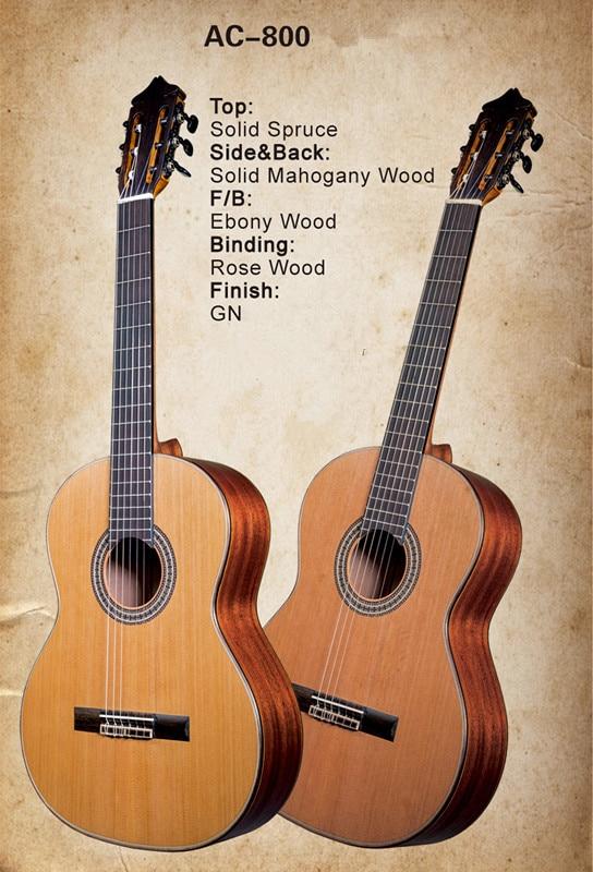 buy 2017 new factory avila classical acoustic guitar ac 800 nylon strings. Black Bedroom Furniture Sets. Home Design Ideas