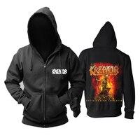 Bloodhoof fashion KREATOR band Dying Alive Medium Metal black fashion hoodie Asian Size