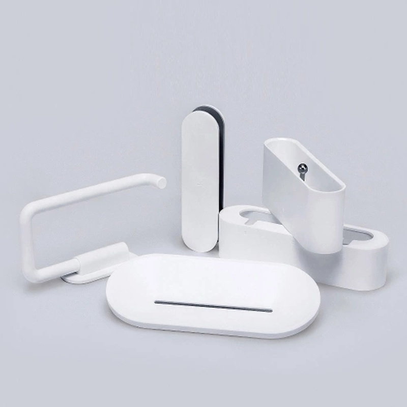 Xiaomi Wash Set 5 in 1 Washroom Wall Attachment Tooth Brush Soap Bathroom Paper Toilet Roll