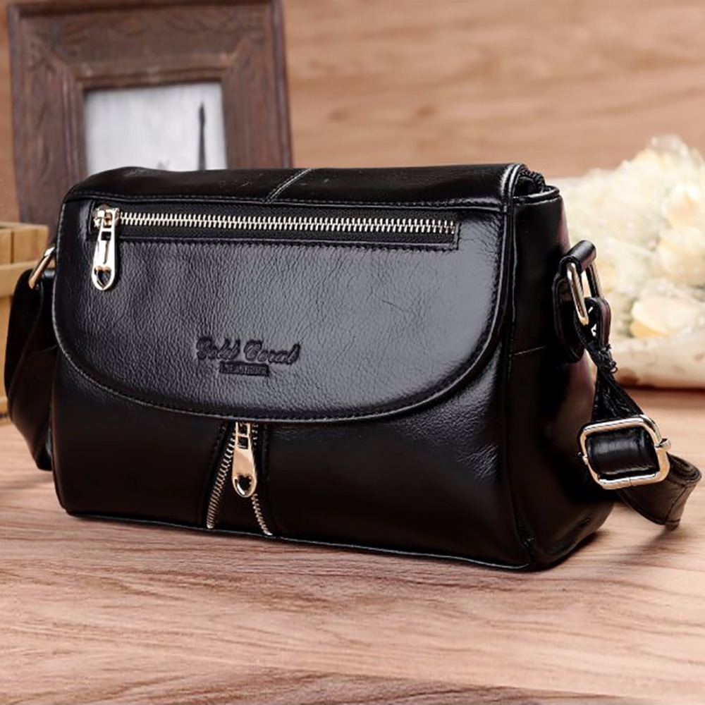 Real Cowhide Genuine Leather Women Single Shoulder Bag Fashion Cross Body Designer Ladies Famous Brand Messenger Hobo Bags New qiaobao new famous brand bag 100% genuine leather bags for women handbag fashion ladies shoulder messenger bags cowhide totes