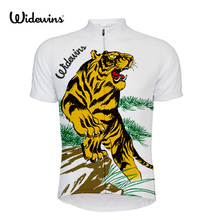 ZERO Russia tiger 2017 Summer Short Sleeve Cycling Jerseys Quick Dry Breathable MTB Bicycle Clothing ropa ciclismo Black 5597