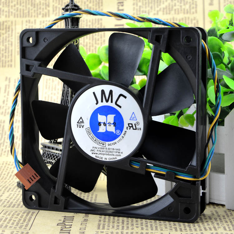 JMC V26815-B116-V43 A12029211PW-4 1225-12LB server cooling fan