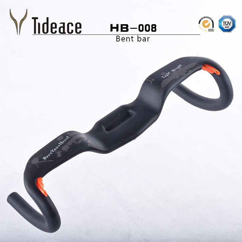 Tideace 2017 31.8*400 420 440mm carbon road bicycle cycling handlebar carbon bike parts bent handlebars bike accessories toseek carbon fiber road bicycle handlebar bicycle bent bar bike handlebar cycling handlebars mountain bikes accessories parts