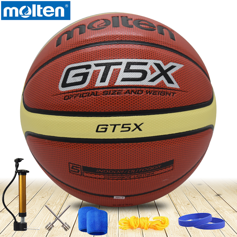 original molten basketball ball GT5X BGT5X 2017 NEW High Quality Genuine Molten PU Material Official Size 5 indoor Basketball original molten basketball ball gp76 gq7xnew brand high quality genuine molten pu material official size7 basketball