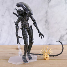 FIGMA SP-108 Alien/SP-109 Predator 2 Takayuki Takeya Ver. PVC Action Figure Collectible Model Toy Brinquedos Patung-patung(China)