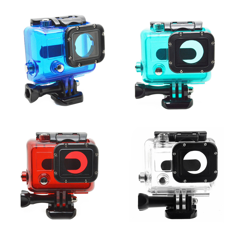 New Arrival Waterproof Housing Case Protective Dive Box Mount Accessories For Gopro Hero 3 Camera GP28
