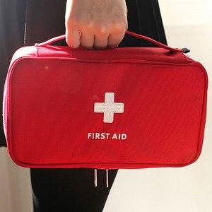 Image 5 - גדול רפואת תיק נסיעות בחוץ קמפינג גלולת אחסון תיק העזרה הראשונה חירום מקרה ערכת הישרדות