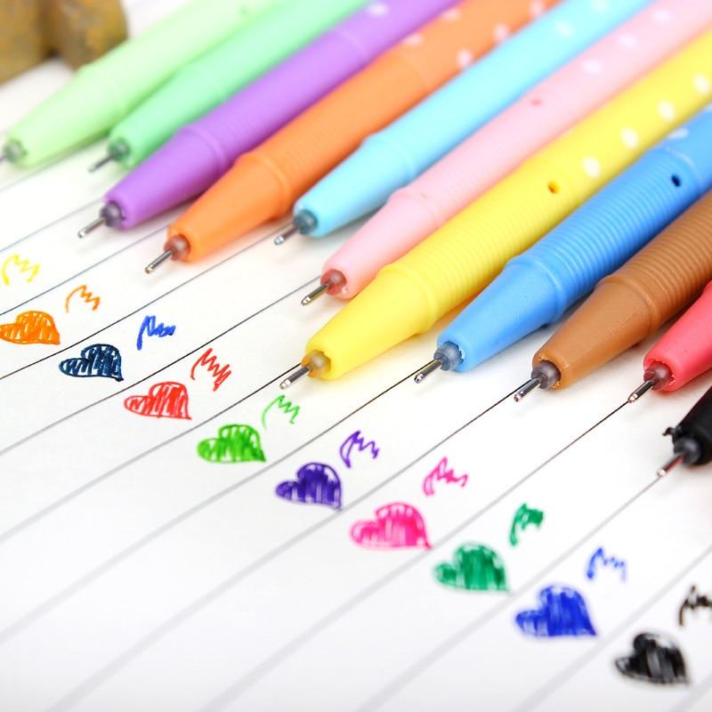 Playful princess series neutral pen point diamond creative Korea stationery wholesale pen color ink pen 12 pcs/set random color zx 1212 creative cute car key style blue point pens set random color 4 pcs