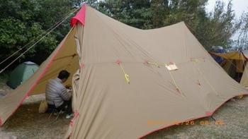 3F UL GEAR 8-12 Person Outdoor Camping Tent Large Tarp Sun Shelter 7*4m A Tower Base Camp Tents Fast Delivery to Japan 2