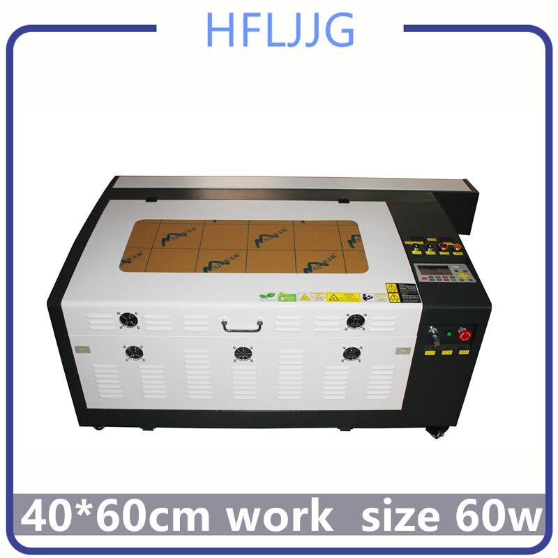 Free Delive Co2 Laser Engraving Ruida 60w 4060 Laser Engraving Machine 220v /110v Laser Cutter Machine Diy CNC Engraving Machine