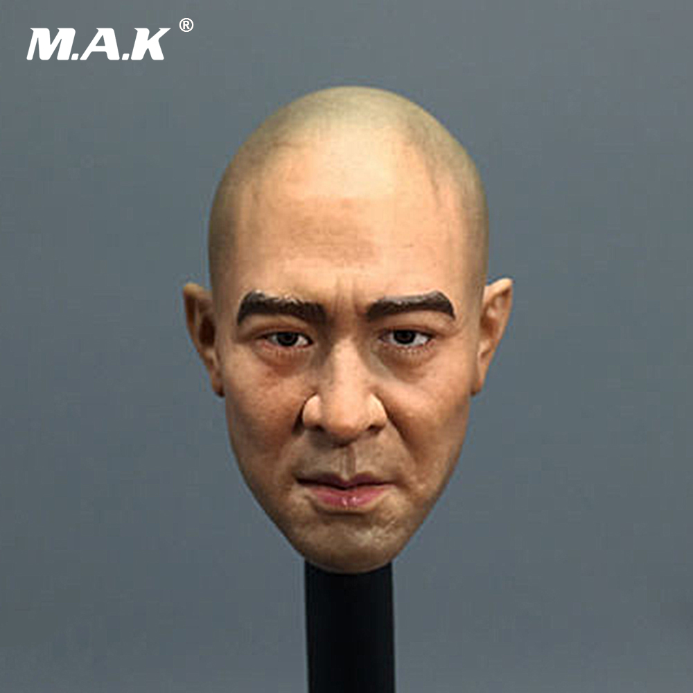 1/6 Scale Jet Li Head Sculpt Asian Actor Headplay The Warlords Model Carving 12 inches Figure Accessories Collection the plural actor
