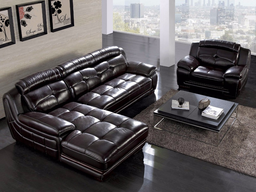 US $1220.0 |2019 Set New Arrival Beanbag Chaise Sectional Sofa Hot Sale  Italian Style Leather Corner Sofas For Living Room Furniture Sets-in Living  ...