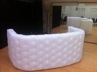 Бесплатная доставка белый надувные бар надувные регистрации Для свадебной вечеринки распродажа